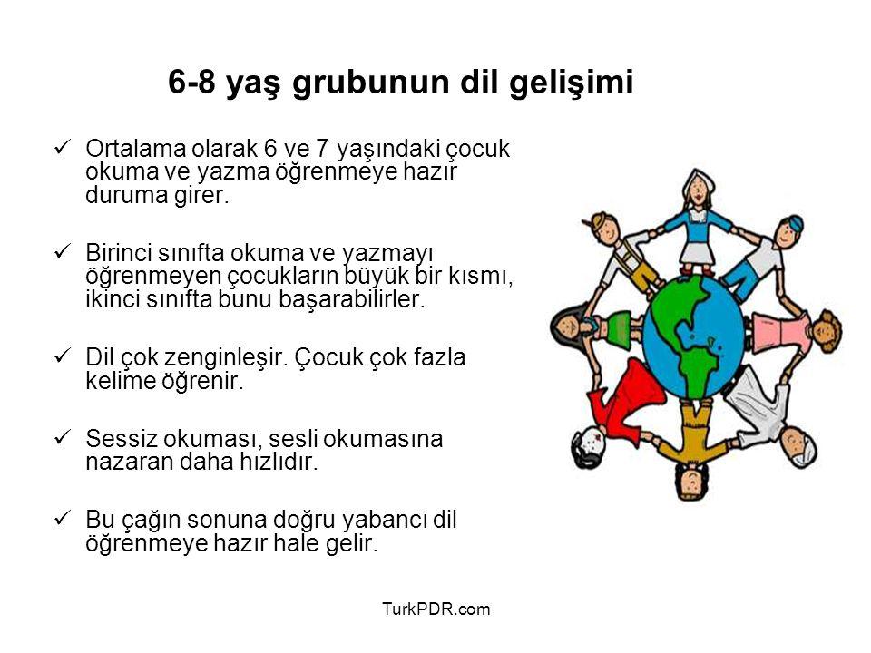 6-8 yaş grubunun dil gelişimi