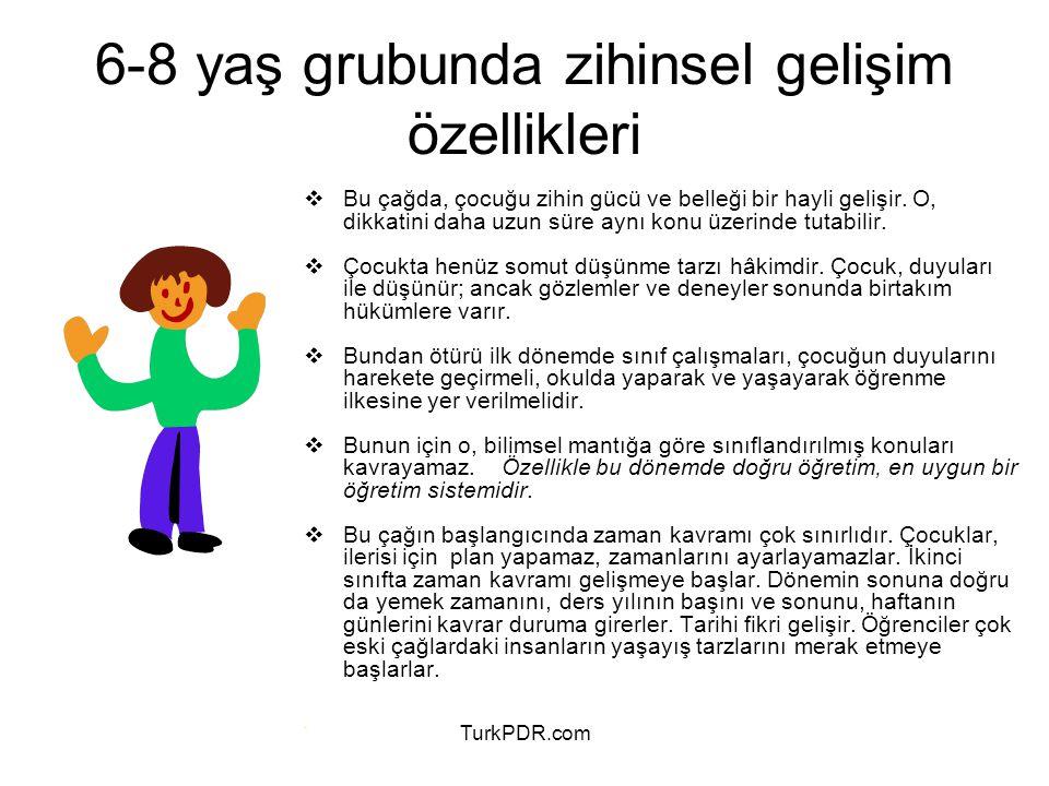 6-8 yaş grubunda zihinsel gelişim özellikleri