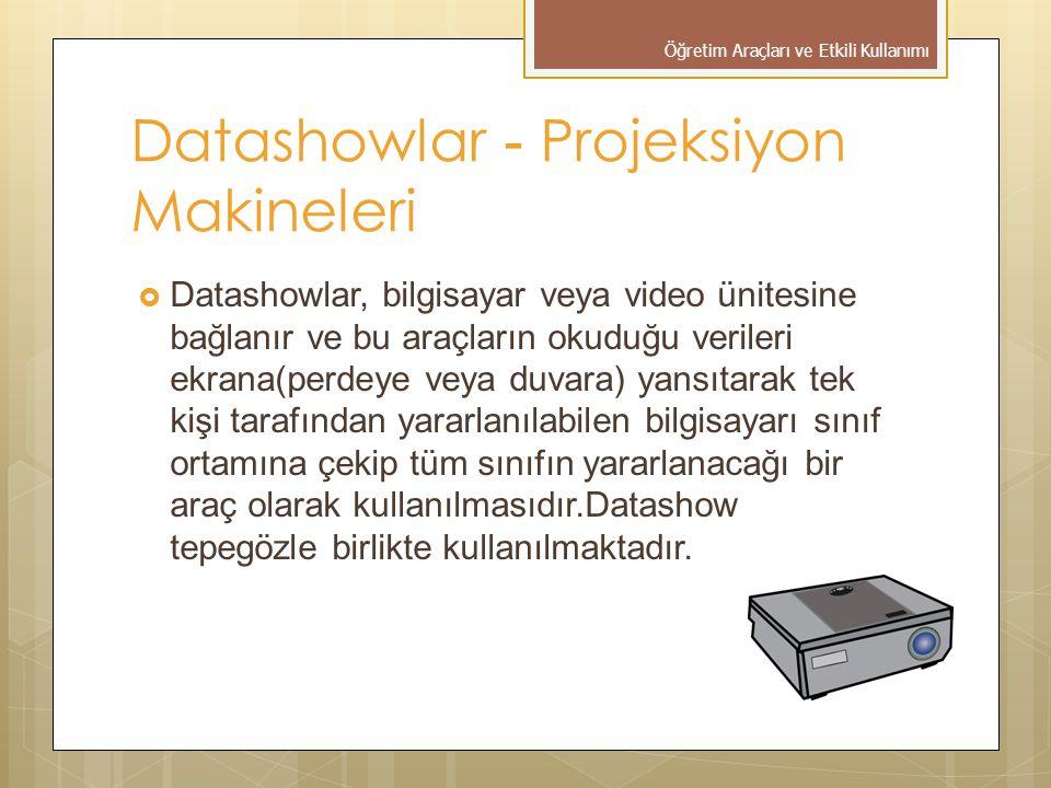 Datashowlar - Projeksiyon Makineleri