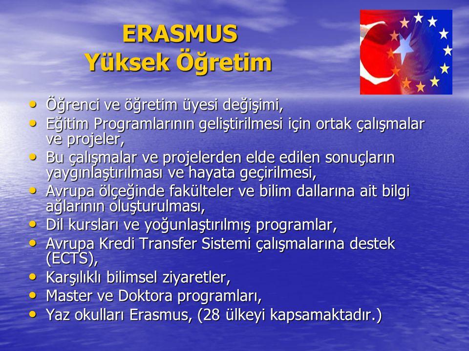 ERASMUS Yüksek Öğretim