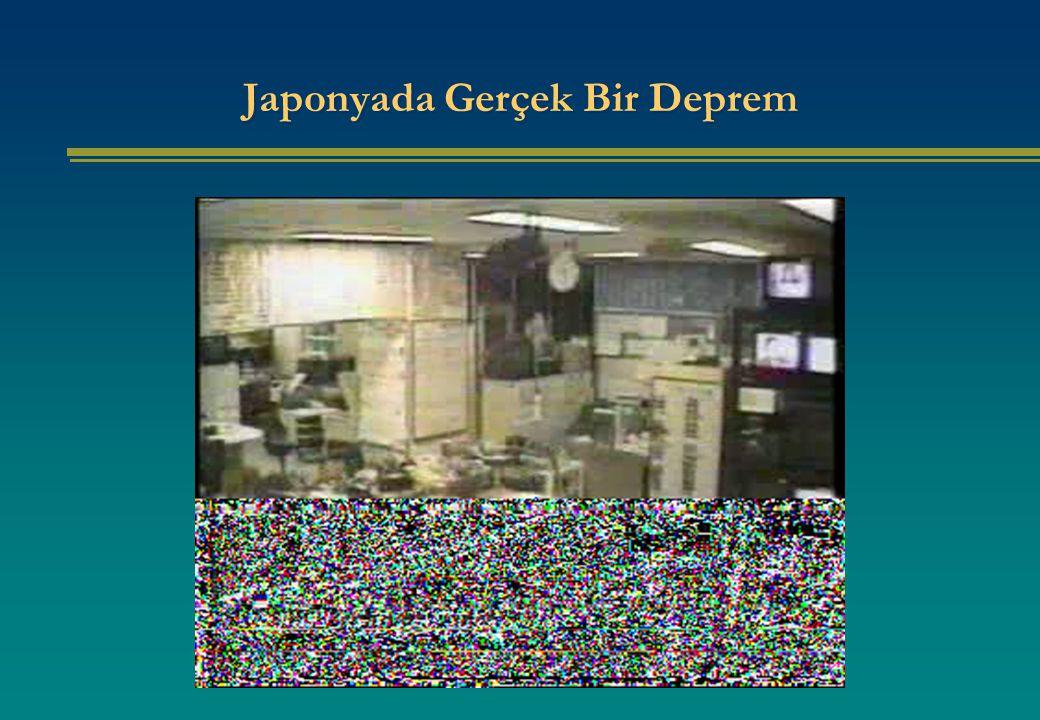 Japonyada Gerçek Bir Deprem