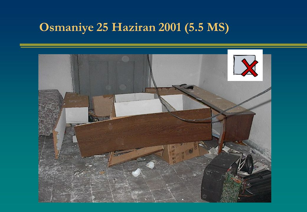 Osmaniye 25 Haziran 2001 (5.5 MS)