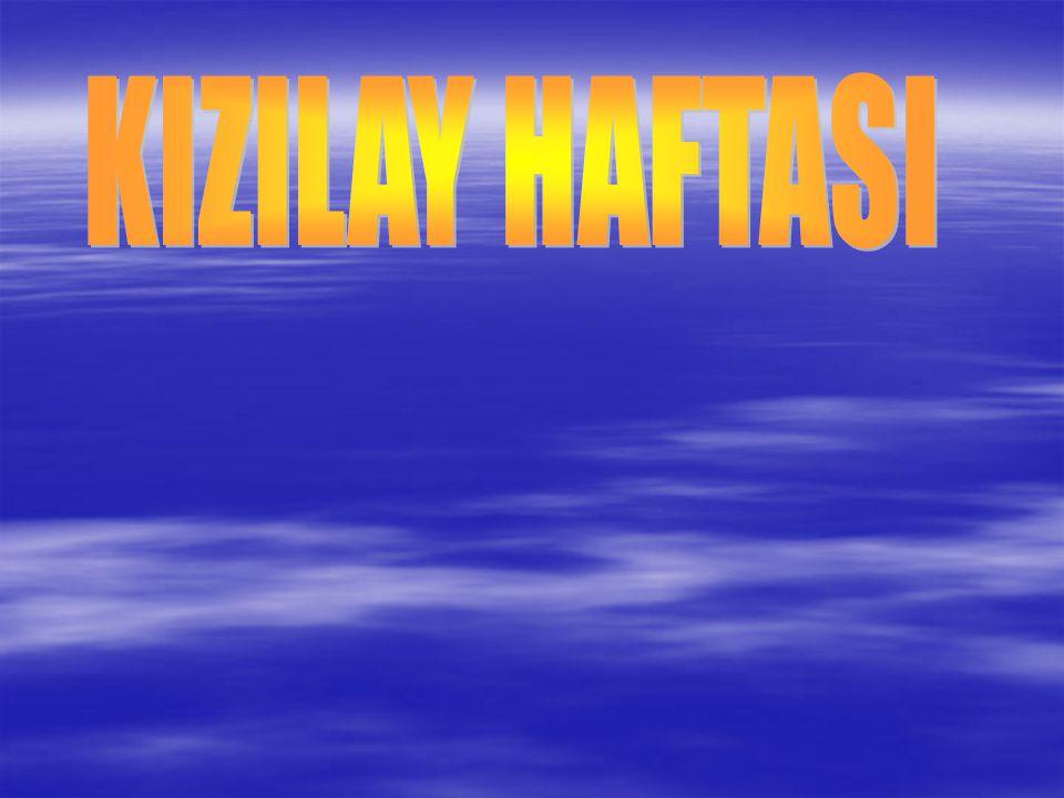 KIZILAY HAFTASI