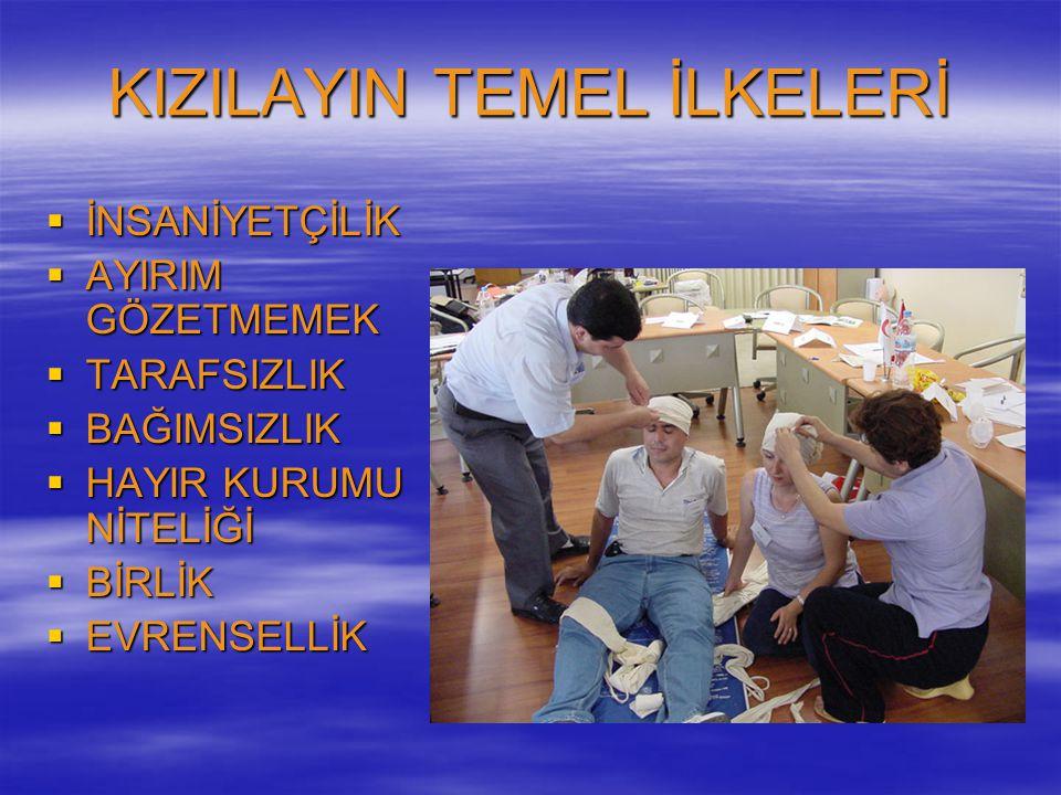 KIZILAYIN TEMEL İLKELERİ