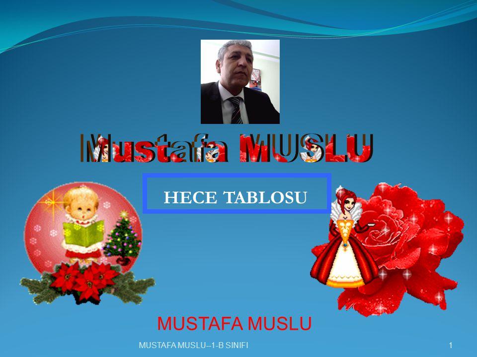 Mustafa MUSLU HECE TABLOSU MUSTAFA MUSLU MUSTAFA MUSLU
