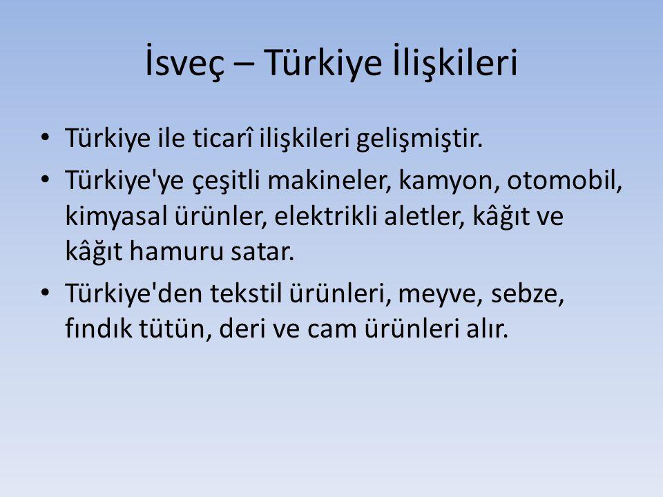 İsveç – Türkiye İlişkileri
