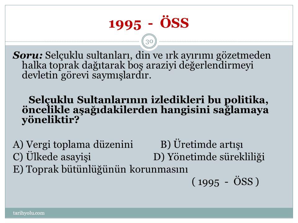 1995 - ÖSS