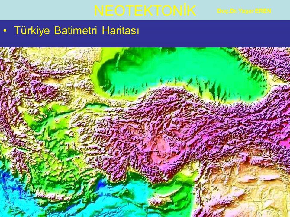Türkiye Batimetri Haritası