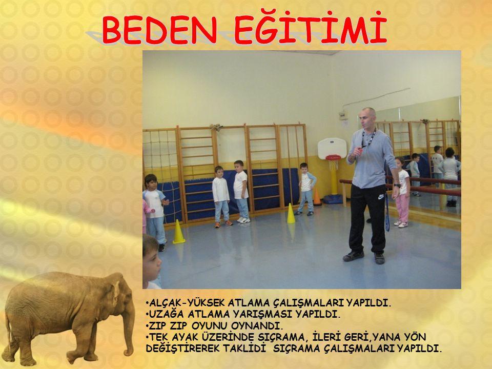 BEDEN EĞİTİMİ ALÇAK-YÜKSEK ATLAMA ÇALIŞMALARI YAPILDI.