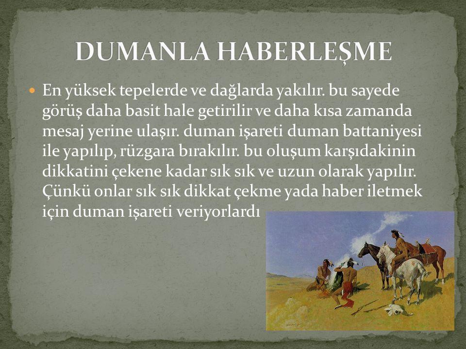 DUMANLA HABERLEŞME