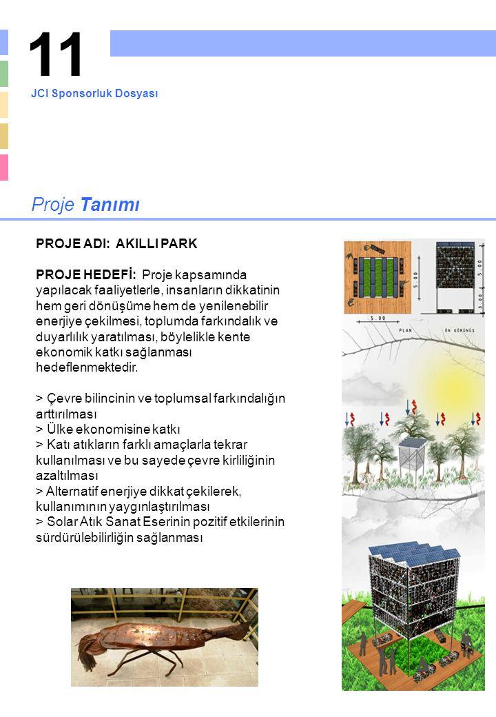 11 Proje Tanımı PROJE ADI: AKILLI PARK