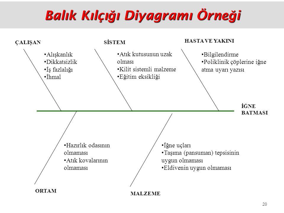 Balık Kılçığı Diyagramı Örneği
