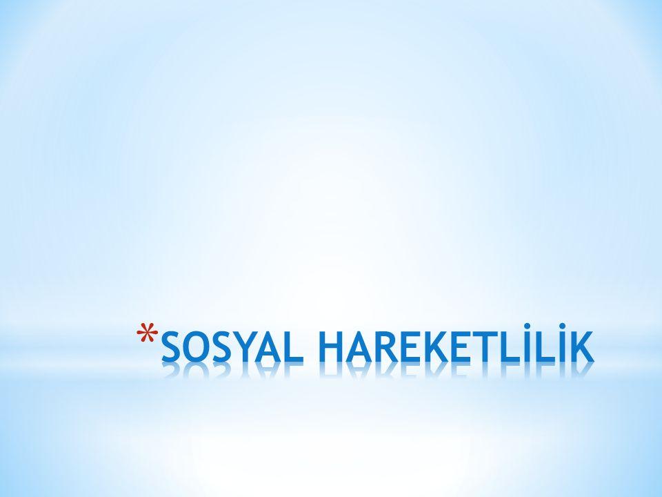 SOSYAL HAREKETLİLİK