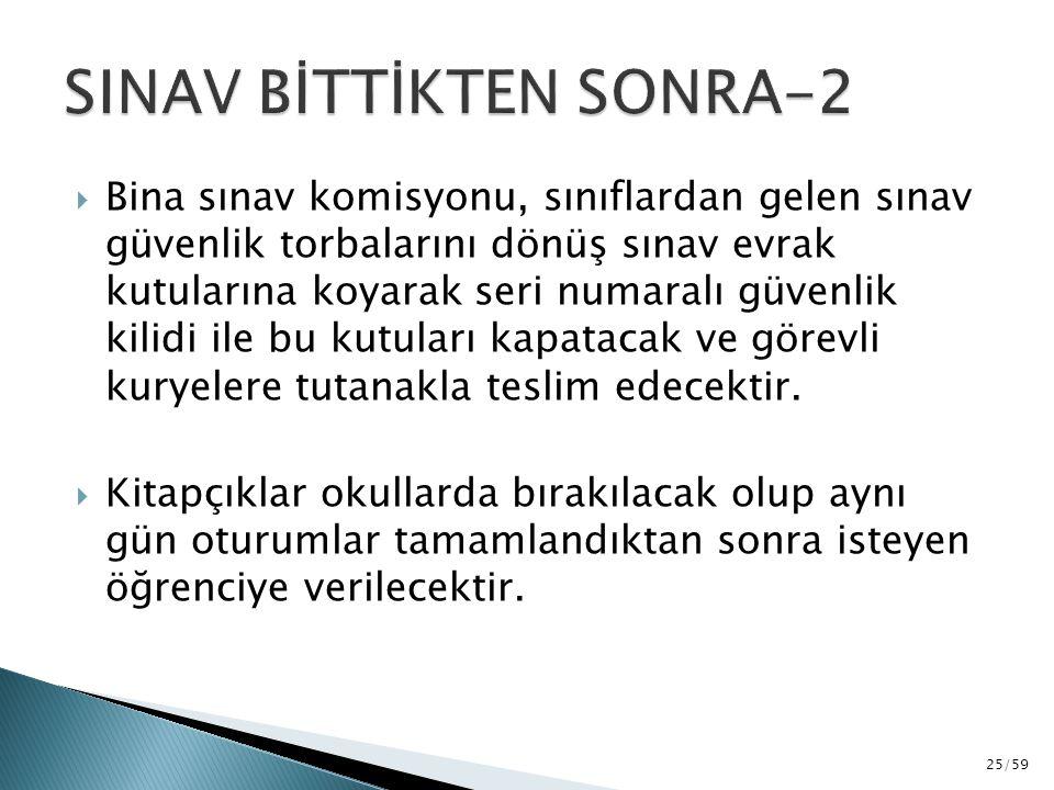 SINAV BİTTİKTEN SONRA-2