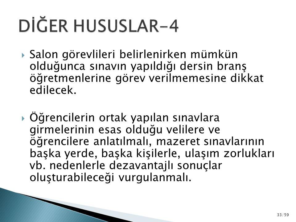 DİĞER HUSUSLAR-4