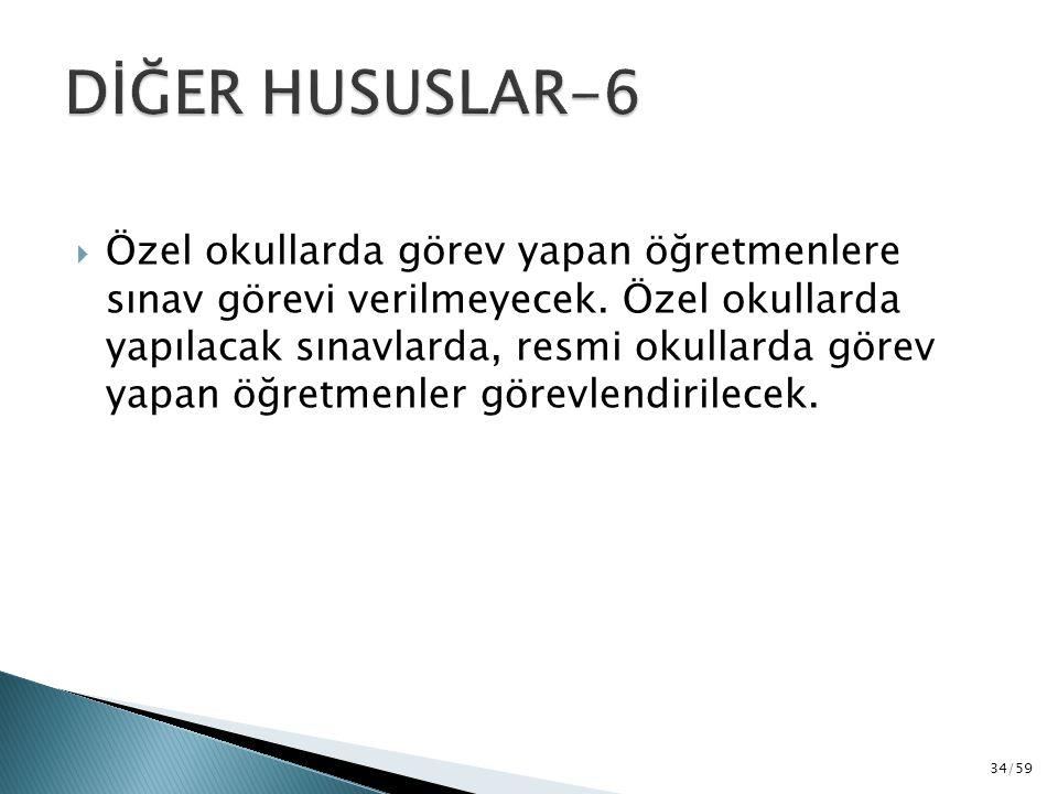 DİĞER HUSUSLAR-6