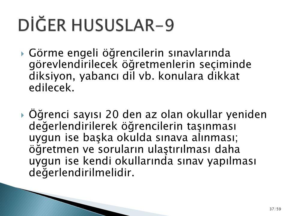 DİĞER HUSUSLAR-9