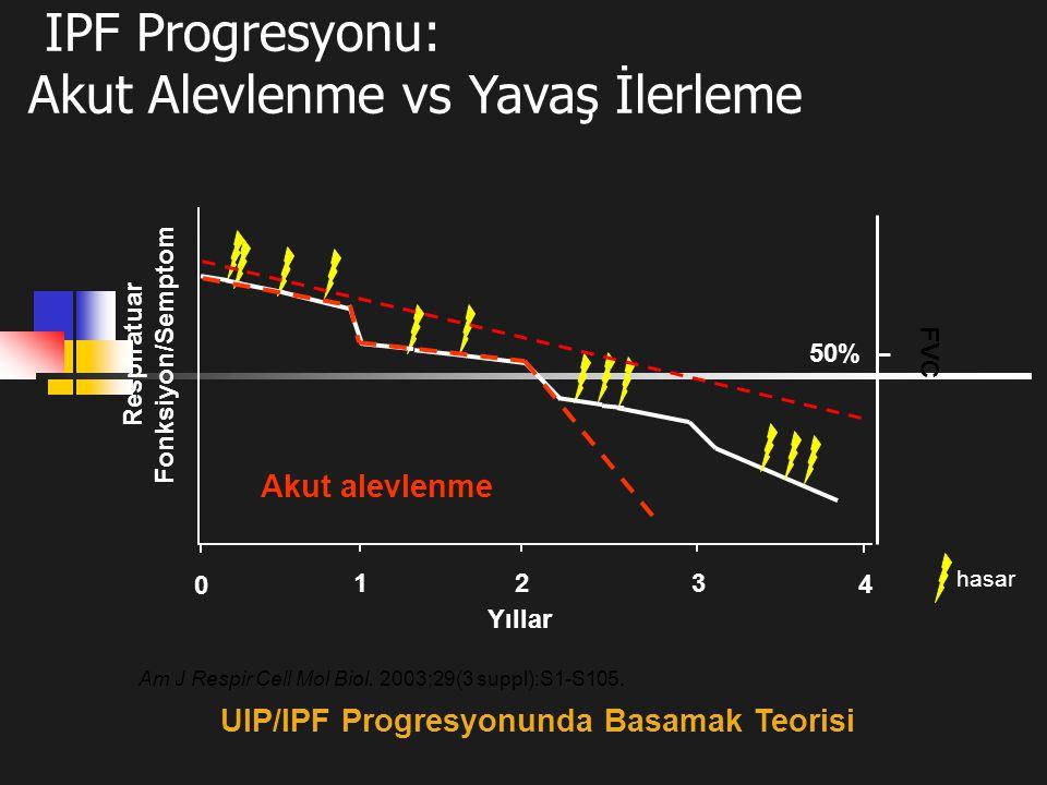UIP/IPF Progresyonunda Basamak Teorisi