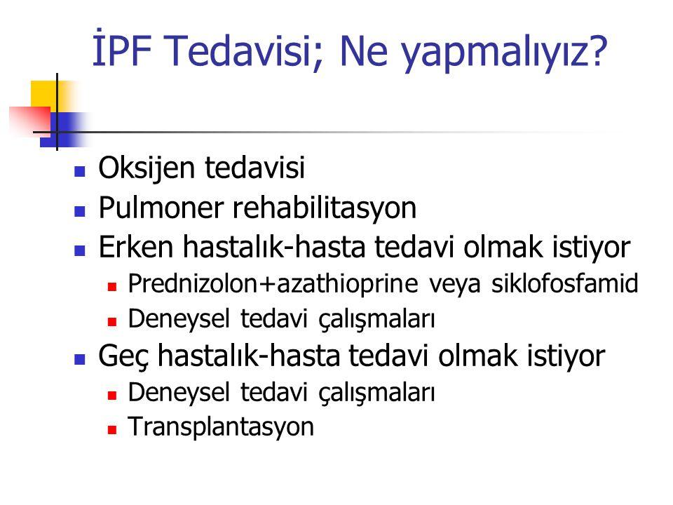 İPF Tedavisi; Ne yapmalıyız