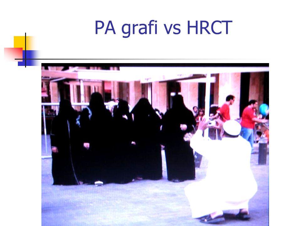 PA grafi vs HRCT