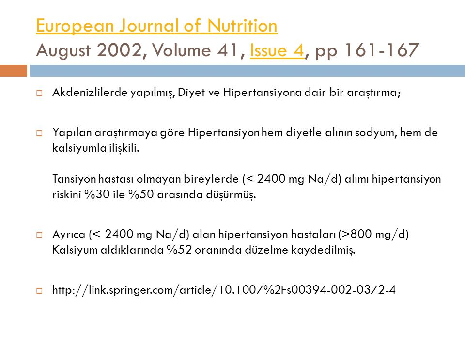 European Journal of Nutrition August 2002, Volume 41, Issue 4, pp 161-167