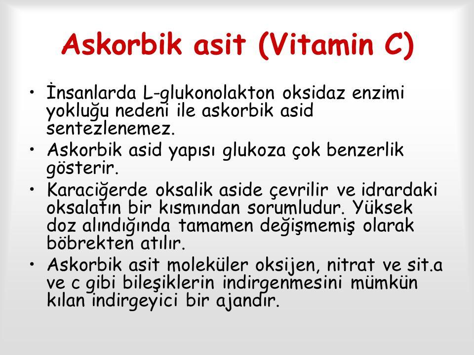 Askorbik asit (Vitamin C)