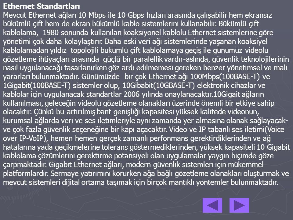 Ethernet Standartları