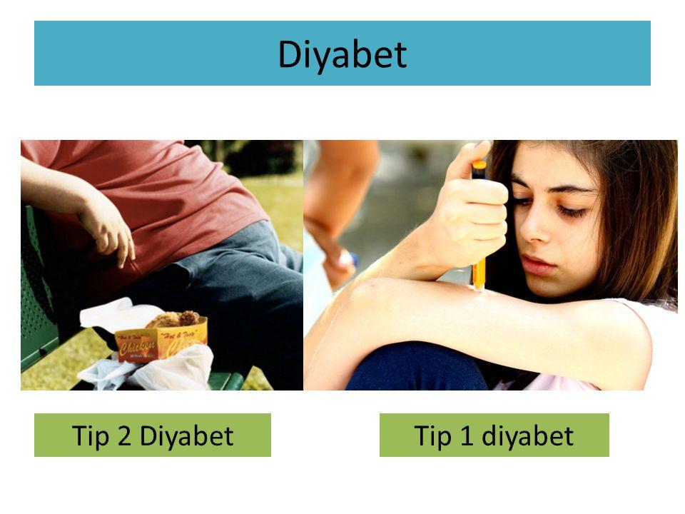 Diyabet Tip 2 Diyabet Tip 1 diyabet
