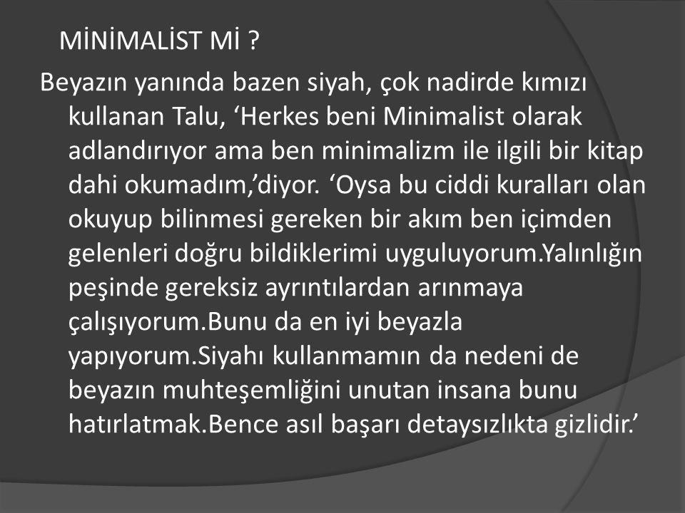 MİNİMALİST Mİ .