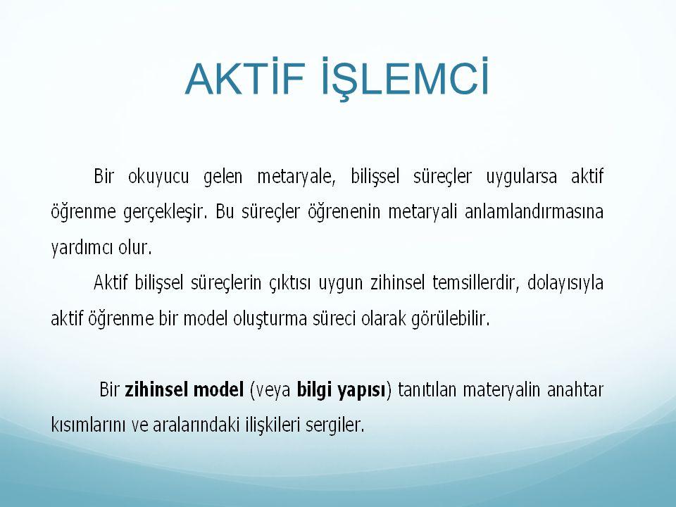 AKTİF İŞLEMCİ