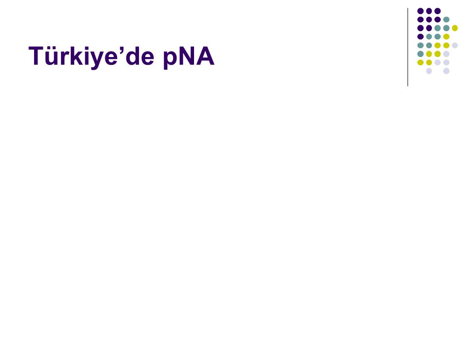Türkiye'de pNA