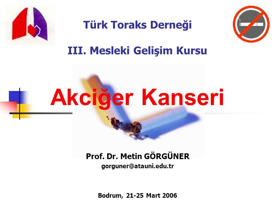 Türk Toraks Derneği III. Mesleki Gelişim Kursu