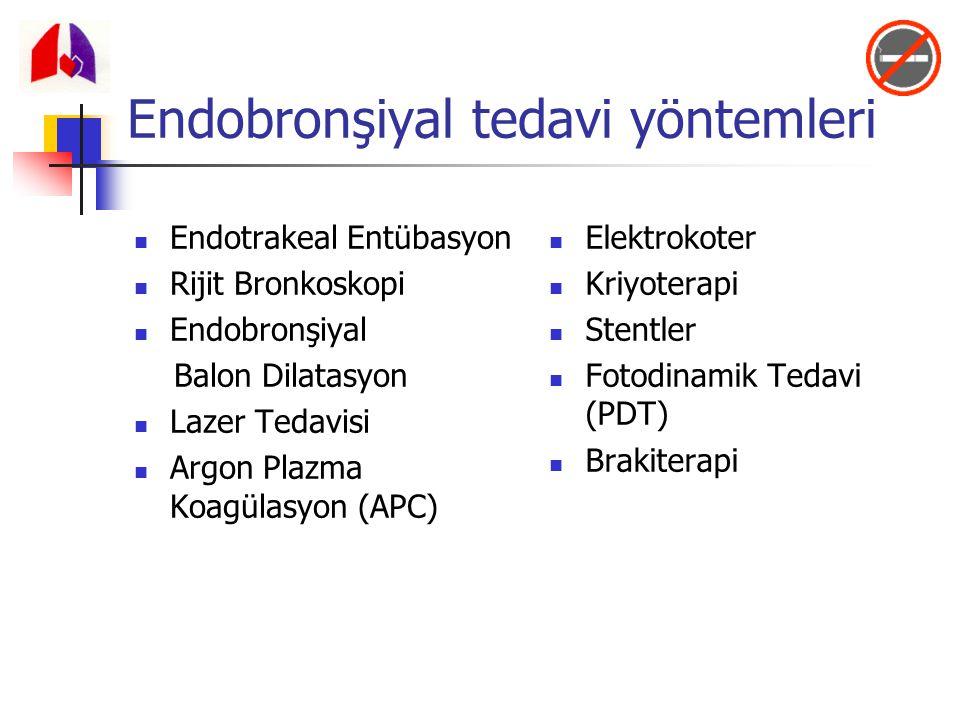 Endobronşiyal tedavi yöntemleri