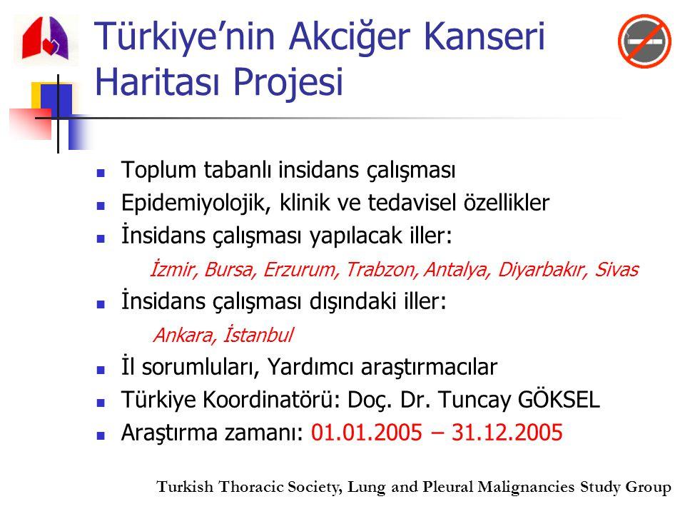 Türkiye'nin Akciğer Kanseri Haritası Projesi