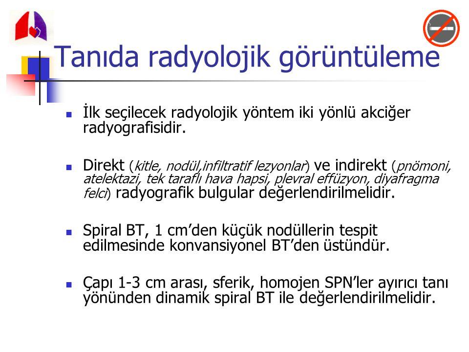Tanıda radyolojik görüntüleme