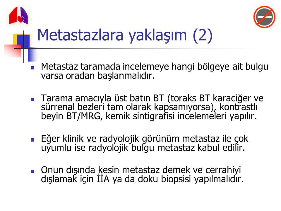 Metastazlara yaklaşım (2)