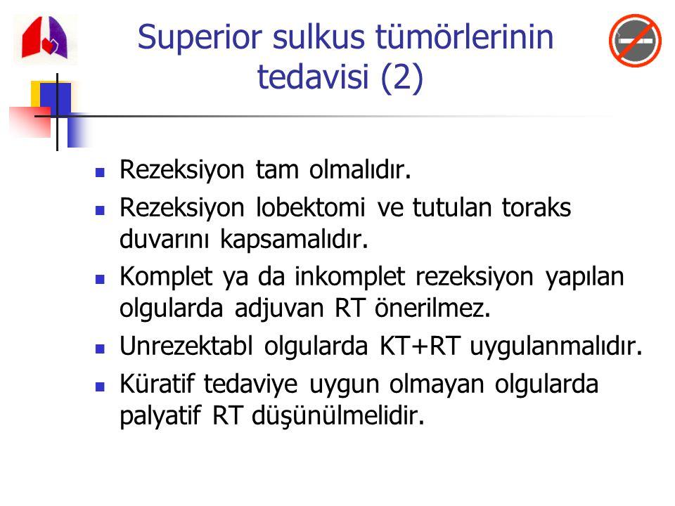 Superior sulkus tümörlerinin tedavisi (2)