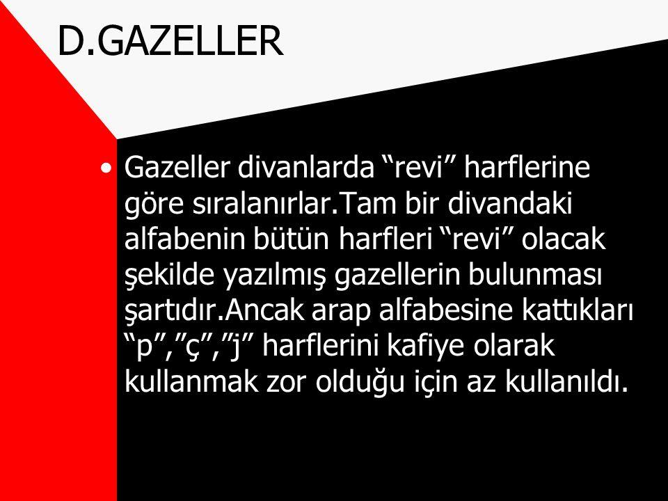 D.GAZELLER