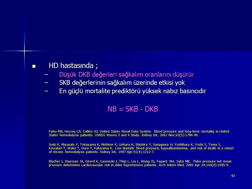HD hastasında ; NB = SKB - DKB