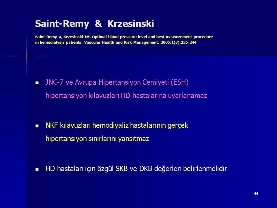 Saint-Remy & Krzesinski Saint-Remy a, Krzesinski JM