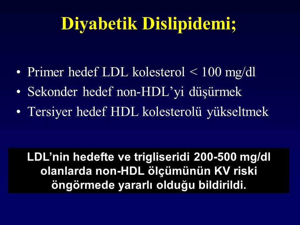 Diyabetik Dislipidemi;