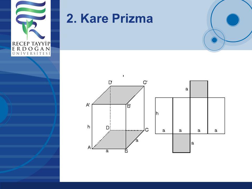 2. Kare Prizma