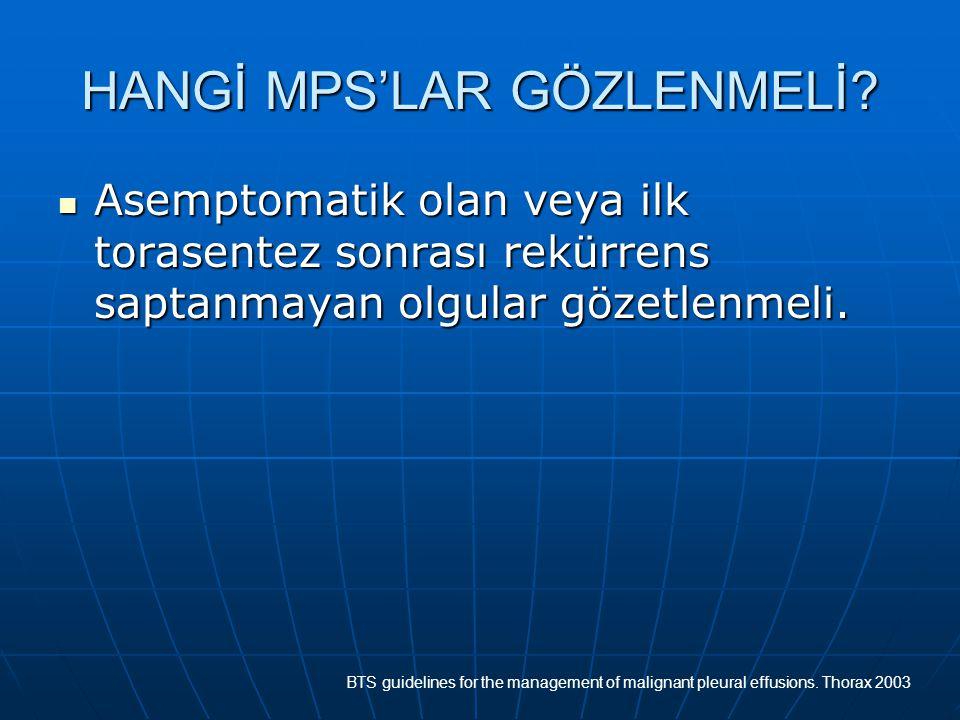 HANGİ MPS'LAR GÖZLENMELİ