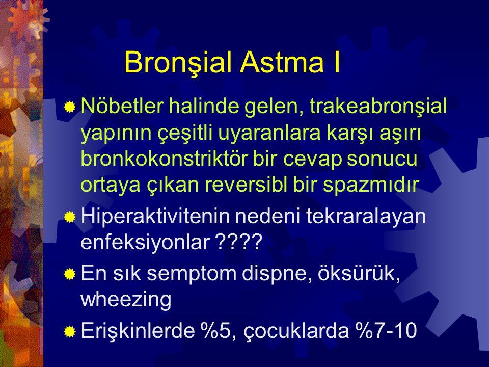 Bronşial Astma I