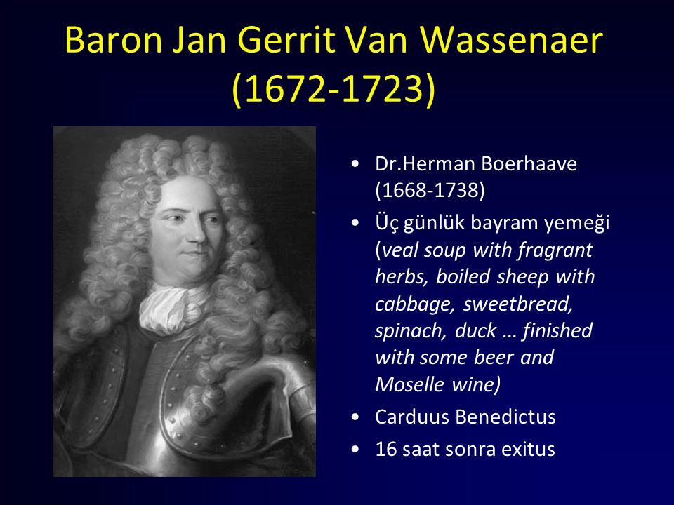 Baron Jan Gerrit Van Wassenaer (1672-1723)