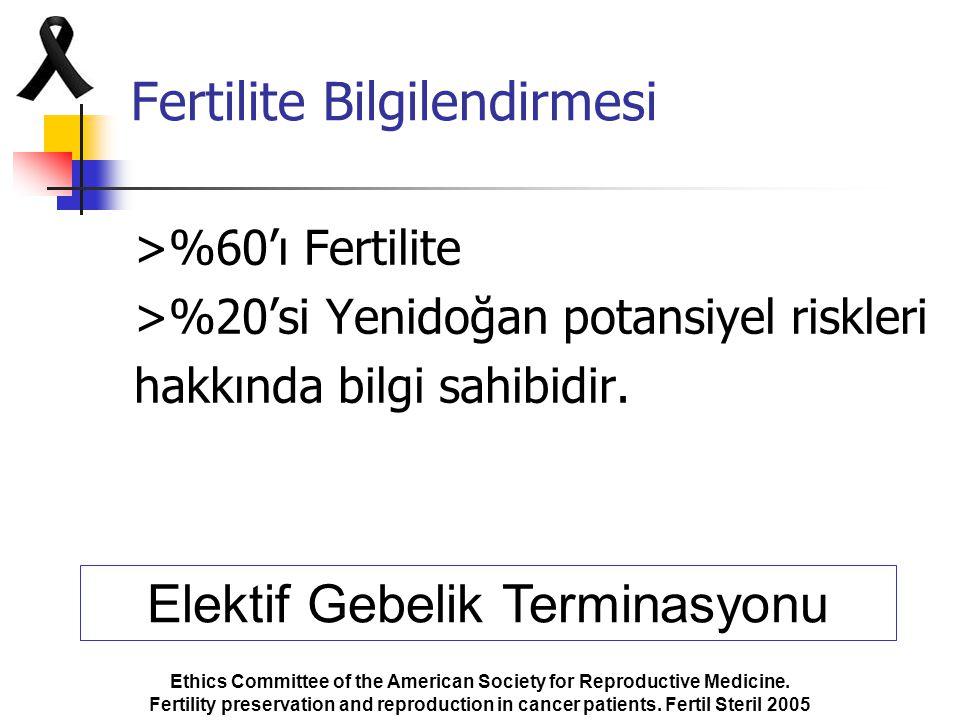 Fertilite Bilgilendirmesi