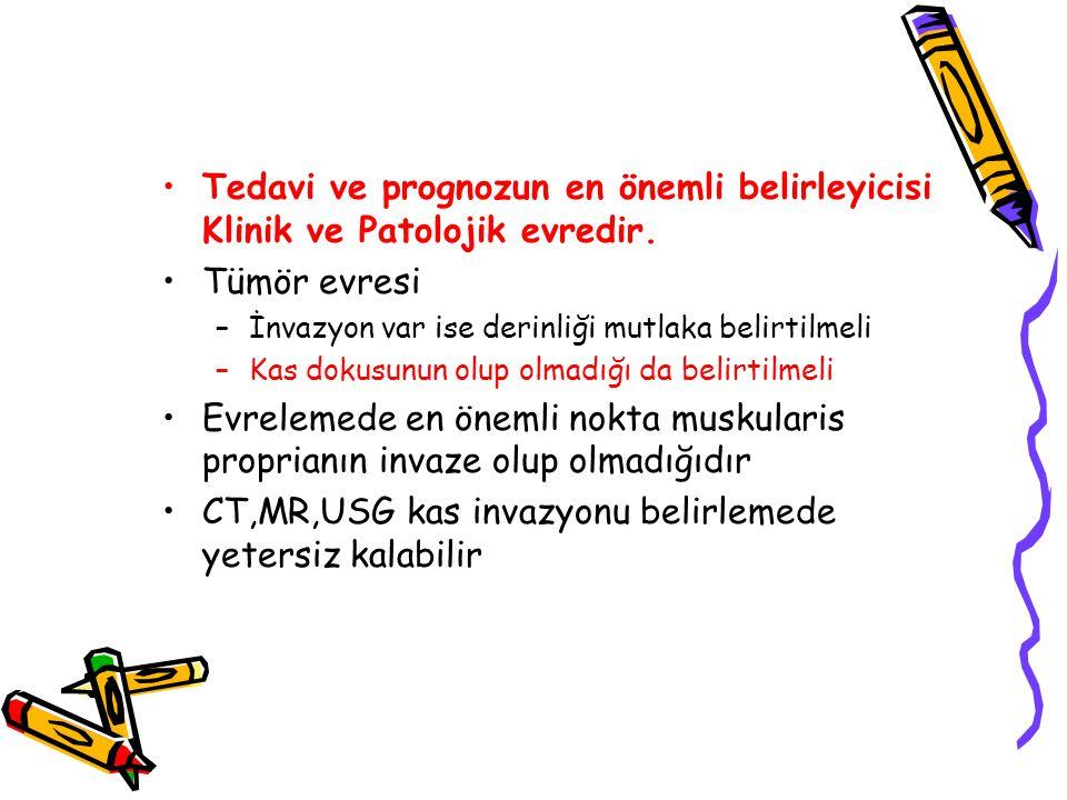 CT,MR,USG kas invazyonu belirlemede yetersiz kalabilir