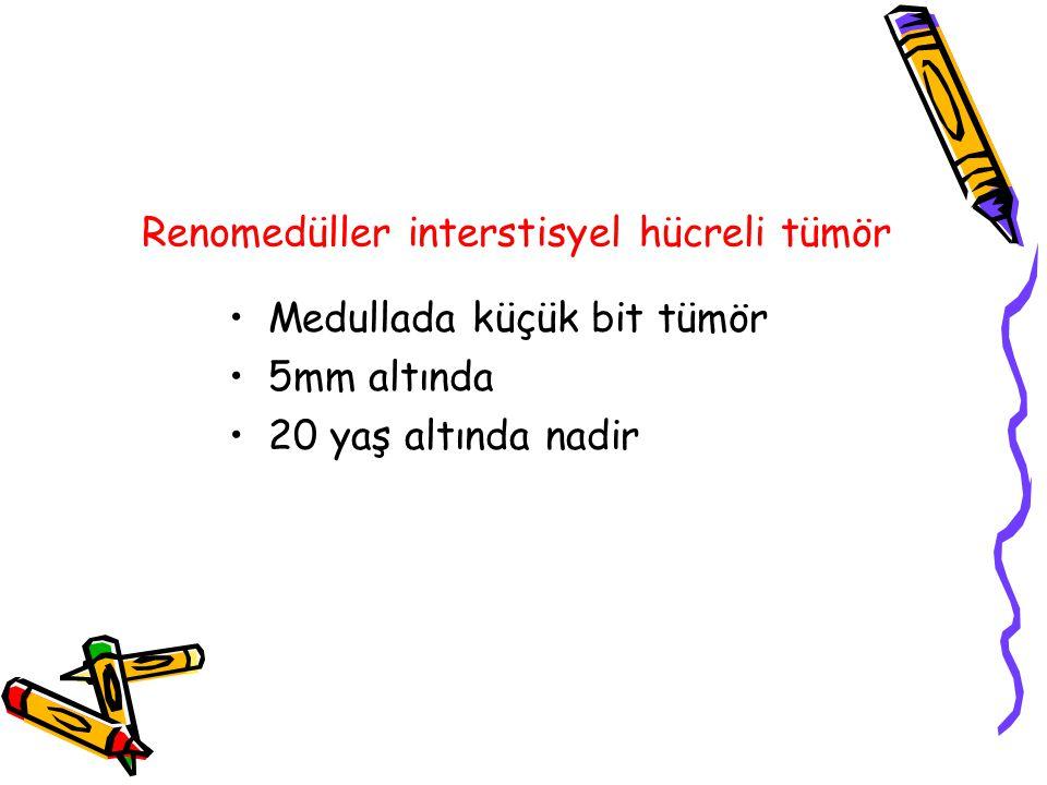 Renomedüller interstisyel hücreli tümör