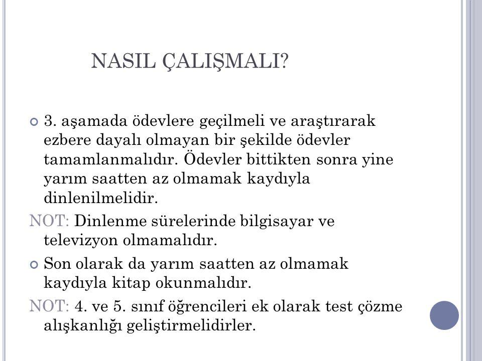 NASIL ÇALIŞMALI