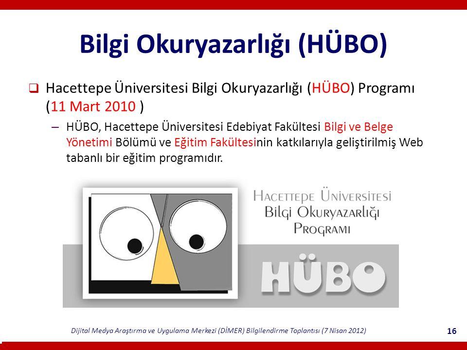 Bilgi Okuryazarlığı (HÜBO)
